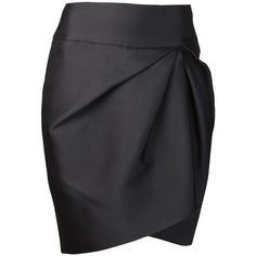 GIAMBATTISTA VALLI asymmetrical pencil skirt ...