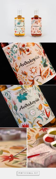 Ανθολογία is a greek word meaning a collection of poems, literary pieces, works of art. A series of natural sweet wines from indigenous la... - a grouped images picture - Pin Them All