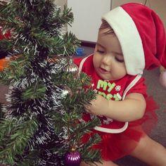 Annabelle 1st Christmas