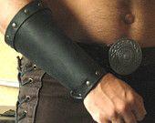 Medieval Celtic Viking Men-at-Arms Bracers Plain
