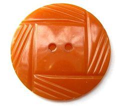 2 Bakelite buttons collectibles button caramel color by oritdotan