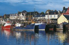 Fishing vessels in Stornoway port, Outer Hebrides, Scotland