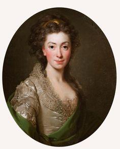 Alexander Roslin <em> Portret Izabeli z Flemingów Czartoryskiej</em>   1794, <br> Muzeum Narodowe w Krakowie, nr inw. MNK XII-a-616