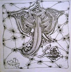 Zentangle Ganesha 41 by Dilip Tangle Art, Illusion Art, Lord Ganesha, Optical Illusions, Art Forms, Tangled, Zentangle, Doodles, Drawings