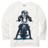 Road dog. Literally. A screen print of man's best friend on a motorcycle is a…