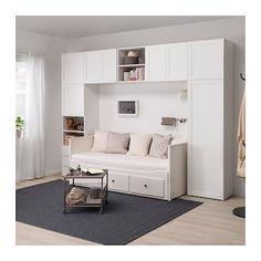 Platsa Wardrobe White Fonnes Sannidal Ikea Alex Bedroom In Bedroom Closet Design, Girl Bedroom Designs, Small Room Bedroom, Interior Design Living Room, Small Bedrooms, Wardrobe In Bedroom, Bedroom Tv, Pax Wardrobe, Modern Bedroom