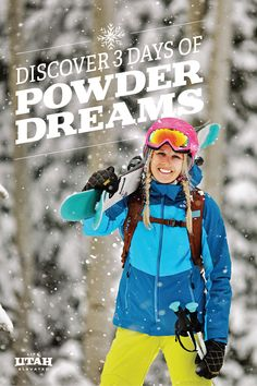 Powder dreams do come true! This three-day itinerary visits your choice of Ski City's four resorts, plus makes the short drive north for a bonus day on one of Ogden's resorts. Once you get a taste for Utah ski trips — and once you realize how close it all is — you may never want to ski anywhere else.