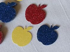 Snow White Red Blue & Yellow Apple Birthday by ImagineCelebrations