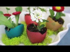 Eierschalen-Vasen