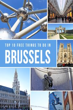 Brussels, Belgium, in the heart of Europe, is a city bursting with energy. Among various activities & attractions, here are the top 10 FREE things that you can do! Oh The Places You'll Go, Places To Travel, Travel Destinations, Travel Tips, Places To Visit, Budget Travel, Bruges, European Vacation, European Travel