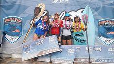 Poenaiki Raioha et Fiona Wylde vainqueurs du Sunset Beach Pro 2019 Sunset Beach, Shakira, Long Beach, Oahu, Surf, Stand Up Paddle, Urban Bike, Surfing, Surfs Up