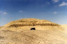 Remains of the Layer Pyramid of Zawiyet el Aryan (south)
