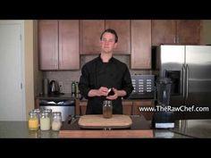 Raw Food Recipe: Making Coconut Kefir & Growing Water Kefir Grains http://therawchef.com/therawchefblog/raw-food-recipes-how-to-make-water-kefir