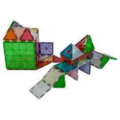 Magna-Tiles 3D Magnetic Building Tiles - 50 Piece : Target