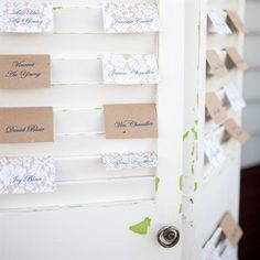 Escort Card Shutter Display this is it i think!!