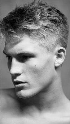 Men's short hair