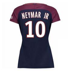 PSG Neymar Jr 10 Dámské Domácí Dres 2017/18 Krátký Rukáv