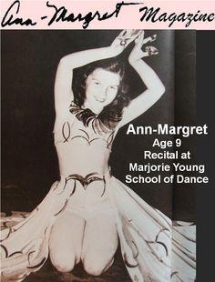 Ann-Margret - Age 9