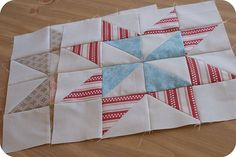 block of the month tutorials for pinwheel quilt