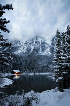Dream life, Lake Louise Canada--this was so neat to see, a winter wonderland!