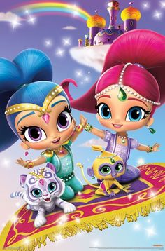 Shimmer and Shine http://amzn.to/2pwhxVH