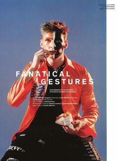 Fanatical Gestures: Lucas Mikulski for Metal Magazine
