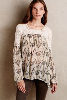 Neutral blouse