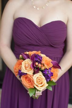 Creamy yellow and orange roses by Flowers by Diane | Naninas In The Park, Northern NJ | Studio A Images