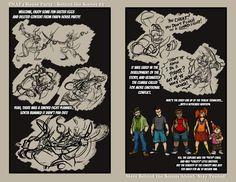 FNAF4 Comic - Behind the Curtain- 02 - 10-27-17 by Mattartist25