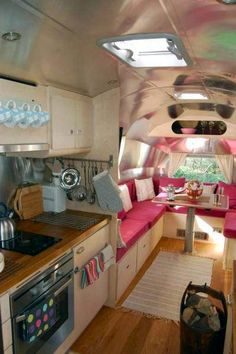 Airstream remodeled