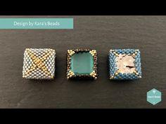 Paper Jewelry, Seed Bead Jewelry, Bead Jewellery, Seed Beads, Bead Embroidery Jewelry, Beaded Jewelry Patterns, Brick Stitch Earrings, Diy Jewelry Inspiration, Stud Earrings