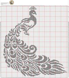 Pin by AB on filet crochet Cross Stitch Bird, Cross Stitch Animals, Cross Stitch Flowers, Cross Stitch Charts, Cross Stitch Designs, Cross Stitching, Cross Stitch Embroidery, Cross Stitch Patterns, Filet Crochet Charts