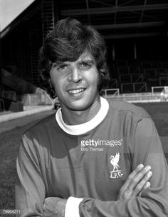 Liverpool F,C, Photo-call, Peter Cormack, July 1975 Free Football, Football Cards, Football Soccer, Football Players, Gerrard Liverpool, Fc Liverpool, Liverpool Football Club, You'll Never Walk Alone, The Beatles