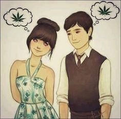 La pareja... - http://growlandia.com/highphotos/media/la-pareja/