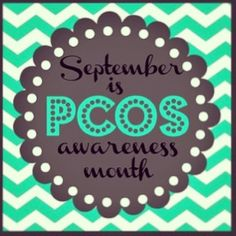 September is PCOS awareness month! A big hug to all my fellow PCOS ladies.  Stop struggling and make peace with PCOS!  Your body will thank you!