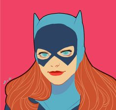 Batgirl by AXEeeee *