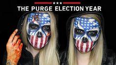 The Purge  Election Year Makeup Tutorial  |  THE PURGE MINI SERIES