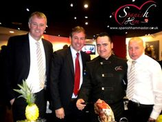 In the Manchester United, Great time with three legends of English football. Gary Pallister, Bryan Robson and Micky Thomas, was a pleasure to meet you!! Hope see you soon!! Jamón Iberico de Bellota, Cebo y Jamón Serrano. www.spanishhammaster.co.uk