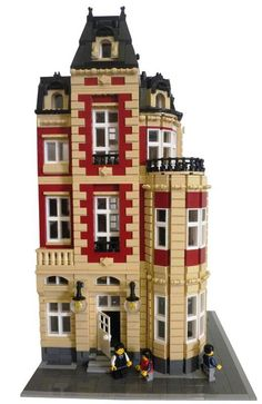 Brick Town Talk: Lifestyles of the Rich and Famous - LEGO Town, Architecture, Building Tips, Inspiration Ideas, and more!