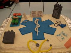 EMS cake. Great idea for when Brian graduates.