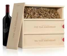 Wine For A Wedding Gift Box