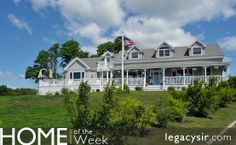 Panoramic ocean views abound from almost every room in this renovated historic home sitting on 6.15 acres with 1115' of waterfront on Great Diamond Island. This is a year-round home accessible by ferry or private boat.