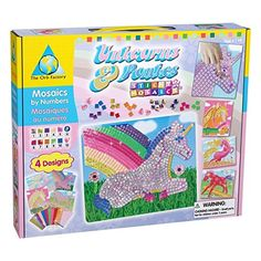 Orb Factory Sticky Mosaics Unicorns and Ponies -- Click image for more details. #Drawingandpainting