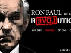 Ron Paul: The Road to REVOLution - side-scrolling indie adventure game for the white house - what will kickstarter bring us next?