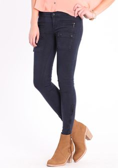 I want these so bad! I love navy for fall $78