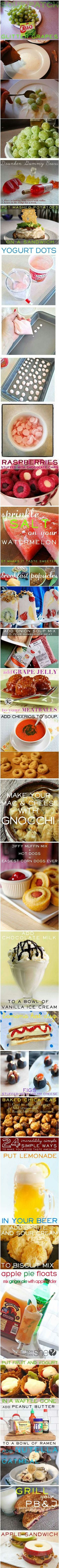 24 ways to make your food more awesome