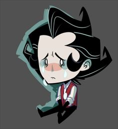 wilson don't starve crying - Google Search