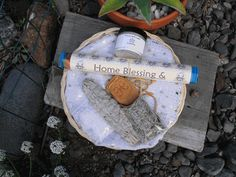 Home Protection + Blessing Ritual Basket - pagan wiccan witchcraft magick ritual supplies