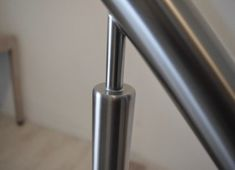 Trapleuningen en balustrades - BD RVS Designs Glass Stairs Design, Modern Design, House, Stairs, Home, Contemporary Design, Homes, Houses