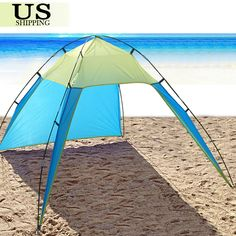 UV Sun Shade Shelter Triangle Beach Tent Canopy Portable Picnic Outdoor Camping   Sporting Goods, Outdoor Sports, Camping & Hiking   eBay!